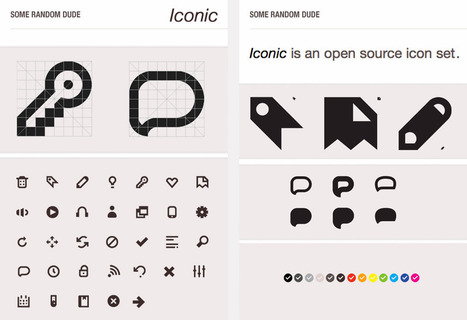 Thousands of free Vector icons and Icon Webfonts for Interfaces and Responsive web design | Awwwards | icons | Scoop.it