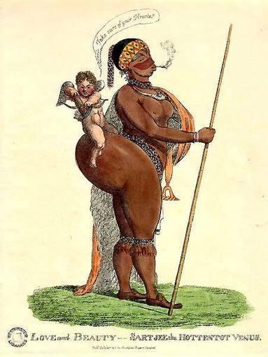 "Article: The Sable Venus on the Middle Passage: Images of the Transatlantic Slave Trade | Michael Vannoy Adams | Saartje Baartman, aka ""Hottentot Venus"" | Scoop.it"