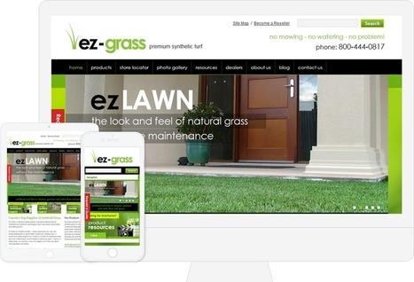 EZ Grass - WordPress Artificial Grass Website By Biztech Consultancy | Web Development | Scoop.it