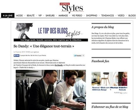 Sodandy récompensé par L'Express Styles | l'habit fait le dandy | luxe, art de vivre à la française, luxury, french life style | Scoop.it