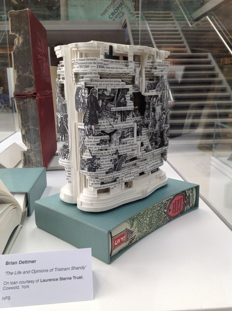 Bookmarking Book Art - Turn the Page, 2015 | Books On Books | Scoop.it