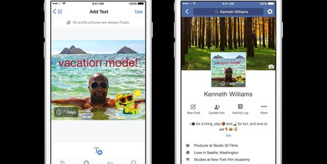 You can now make your Facebook profile picture a GIF | Fashion Technology Designers & Startups | Scoop.it