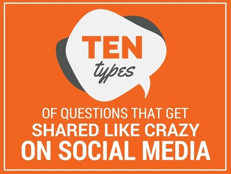 10 Questions That Get Shared on Social Media Like Crazy | Shift With Online Marketing | Scoop.it