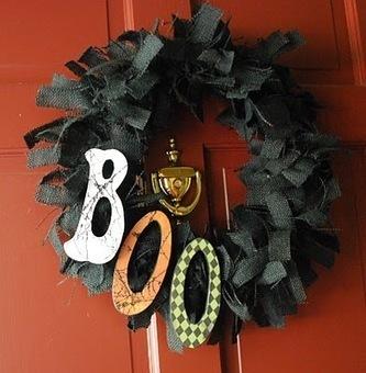 Halloween crafts {wreaths} | Craft ideas | Scoop.it