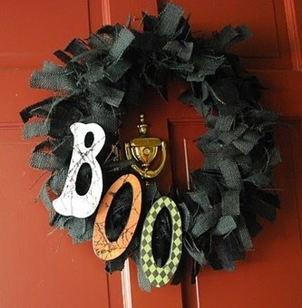 Halloween crafts {wreaths} | MyBestHelper | Scoop.it
