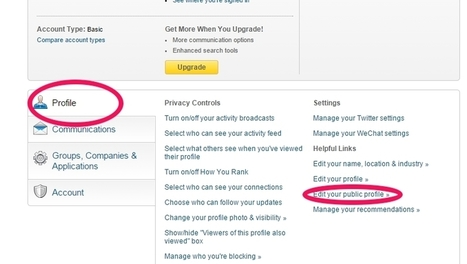 How To Claim Your Name on LinkedIn And Create A LinkedIn Profile Badge - Bright Yellow Marketing | LinkedIn | Scoop.it