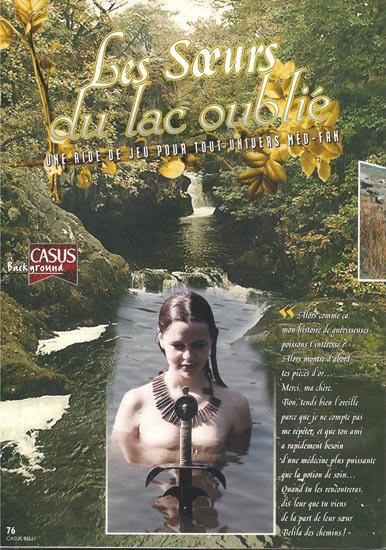Souvenirs de Casus... Les Soeurs du Lac | Jeux de Rôle | Scoop.it