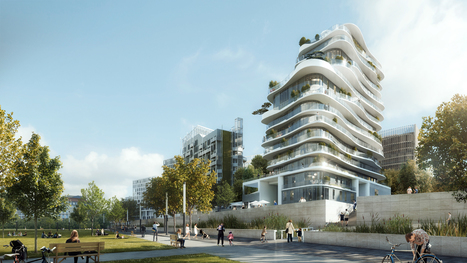 MAD Unveils 'ORGANIC' and Asymmetrical Tower in Paris' Clichy-Batignolles | The Architecture of the City | Scoop.it