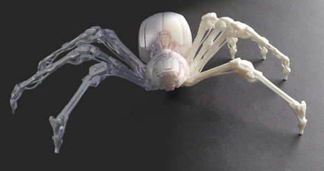 3D Printing the Spider Bot | 3d Print | Scoop.it