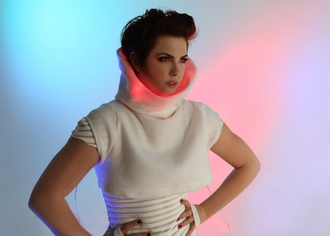 GER Mood Sweater by Sensoree indicates emotions with LEDs | Technologies. | Scoop.it