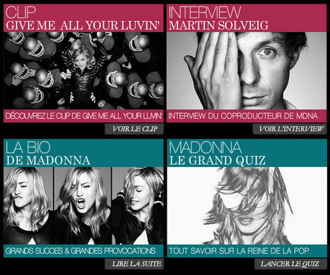 Le nouvel LP de Madonna en écoute gratuite en boucle Ici (jusqu'a dimanche) | L'actualité de la filière Musique | Scoop.it