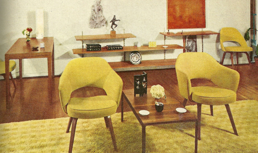 Vintage home decorating 1960s furniture and ro for J furniture style 1250
