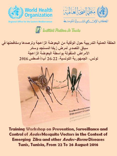 Workshop sur la la surveillance de l'introduction du virus Zika dans les pays de la région EMRO | Institut Pasteur de Tunis-معهد باستور تونس | Scoop.it