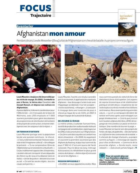 """Reflets (Magazine ESSEC) - """"Afghanistan mon amour""""   Louis Meunier   Scoop.it"""