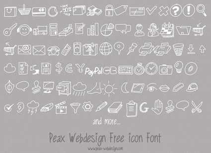 The Center for Graphic Facilitation: Free Icon Font | graphic facilitation | Scoop.it
