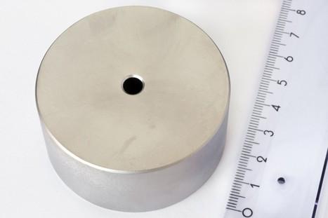 Neodym Magnete und Supermagnete Ringmagnet Ø 60/6 mm, Höhe 30 mm - Neodym Magnet NdFeB, N45, vernickelt Neodym Magnete | Neodym Magnete und Super Magnete im Magnetshop | Scoop.it