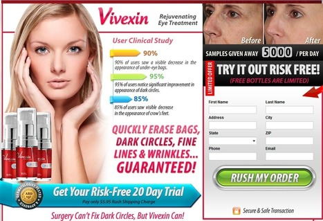 Interested In Vivexin?...Read Here First Before You Try It! | skin care loma | Scoop.it