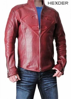 Smallville Leather Jacket For Sale | Red Superman Smallville Jacket Replica | Hexder | Scoop.it