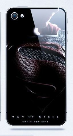 Superman the Man of Steal iPhone 4, 4S protective case (Black)   Apple iPhone and iPad news   Scoop.it