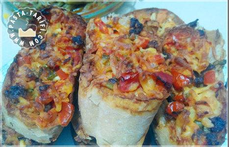 Bayat Ekmek Pizzası | Poğaça Tarifleri - Börek Tarifleri | Scoop.it