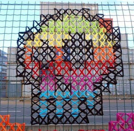 Urban X Stitch – The Cross Stitch meets Street Art   Culture and Fun - Art   Scoop.it