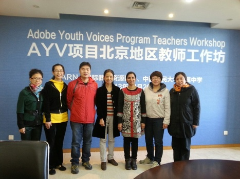 Adobe Youth Voices Workshop in Beijing | iEARN in Action | Scoop.it