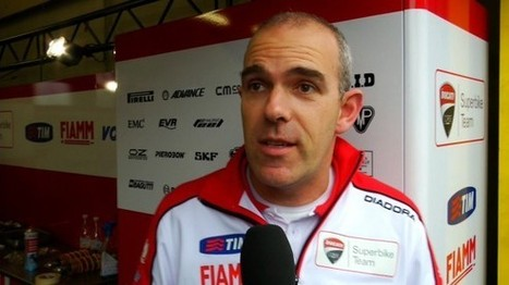 """""""Bayliss would love to test the Panigale again"""" says Marinelli   Ductalk Ducati News   Scoop.it"""