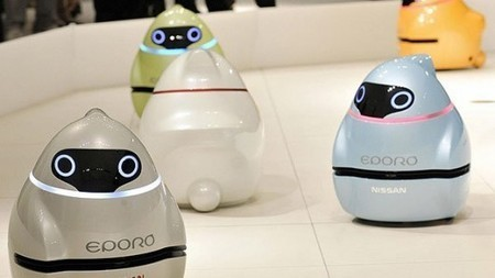 Like a Fish Out of Water - Nissan's EPORO robot car concept | Biomimicry | Scoop.it
