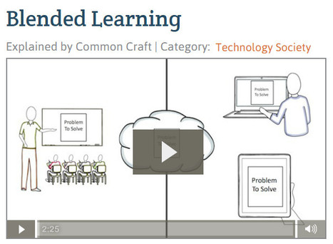 Blended Learning | Common Craft | Online Learning: More Than Just a MOOC #SPANISH | Scoop.it