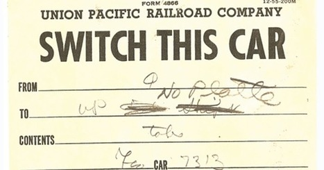 modeling the SP: Route cards, Part 16 — model uses | Model Railroading | Scoop.it