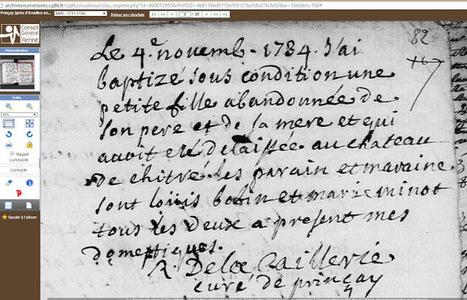 Lulu Archive Availles-en-Châtellerault.: Availles et Prinçay , au fil des ans et des registres - 1734. | GenealoNet | Scoop.it