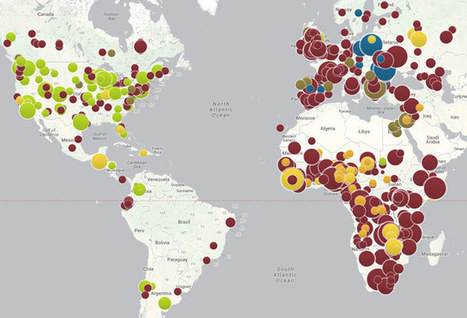 World map of vaccine-preventable outbreaks | Medical technology | Scoop.it