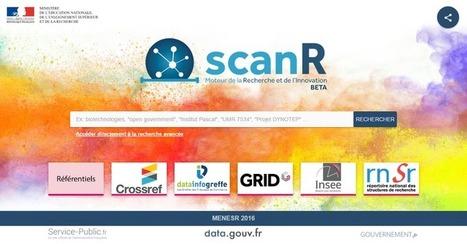 scanR - Data.gouv.fr | Universités et fonction publique | Scoop.it
