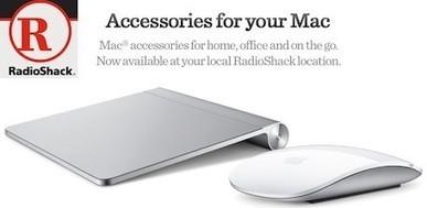 RadioShack begins selling Mac accessories - tuaw.com | Entertainment And Gadgets | Scoop.it