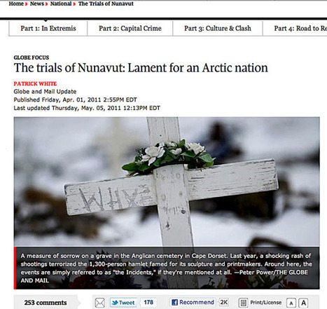Nunavut health minister blasts Globe & Mail for Nunavut feature   Inuit Nunangat Stories   Scoop.it