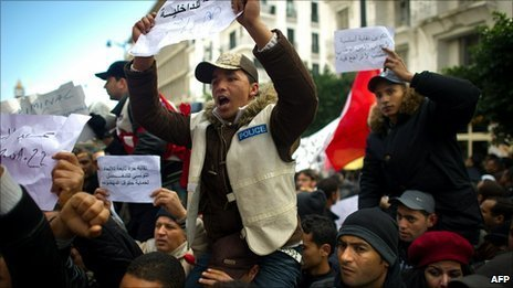 BBC News - Tunisian PM Mohamed Ghannouchi under pressure to quit | Coveting Freedom | Scoop.it