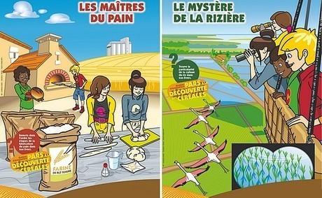 Graines d'Aventuriers fait découvrir les céréales aux enfants aquitains | Sud-Ouest | Actualités en Aquitaine | Aquitaine OnLine | BIENVENUE EN AQUITAINE | Scoop.it