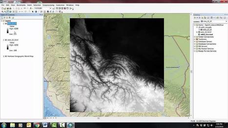 Preliminary ArcGIS to Photoshop workflow | Everything is related to everything else | Scoop.it