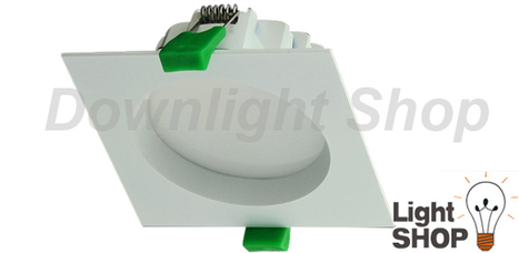 D'ECO 13W Square White Trim Warm White LED - $33.9 SAVE: 32% OFF | Cheap Downlights | Scoop.it