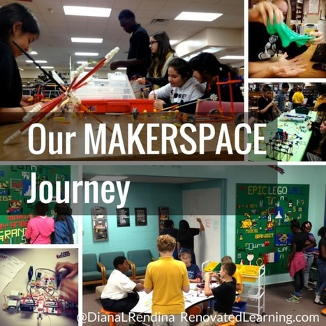 Our Makerspace Journey - Renovated Learning @DianaRendina | Maker Movement in the Elementary Classroom | Scoop.it