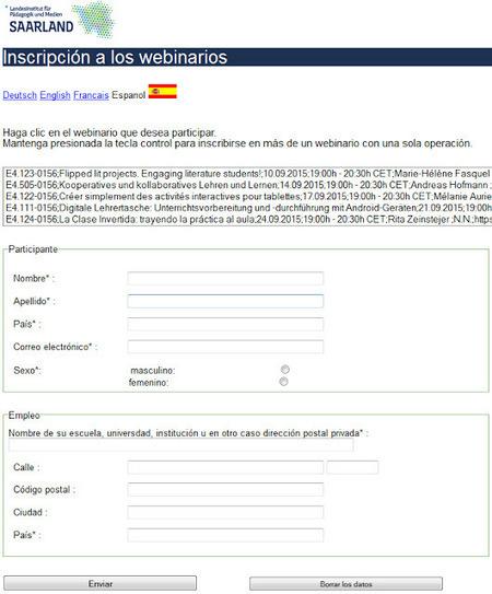 Globinars: Nueva Inscripción a Nuestros Webinarios | Las TIC en el aula de ELE | Scoop.it