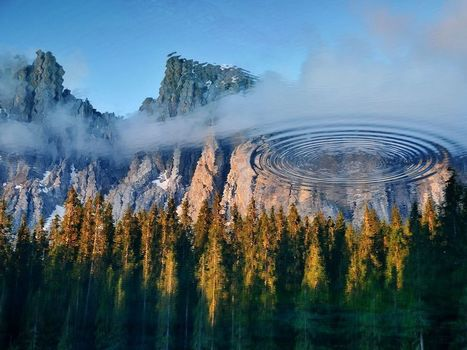 Lake Carezza Picture -- Reflection Wallpaper -- National Geographic Photo of the Day | Need a place for a weekend ? Here it is ! | Scoop.it