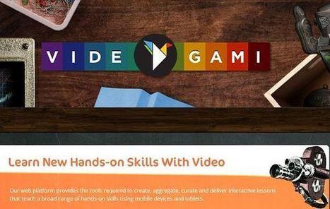 Videogami: aprende origami paso a paso con instrucciones en vídeo | Banco de Aulas | Scoop.it