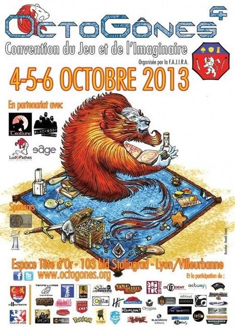 Octogones 4 La Convention du Jeu et de l'Imaginaire 2013 | Jeux de Rôle | Scoop.it