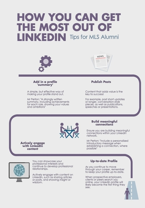 Melbourne Law School shows you how to get the most out of LinkedIn « OzTREKK – Study in Australia | Australian Law Schools | Scoop.it