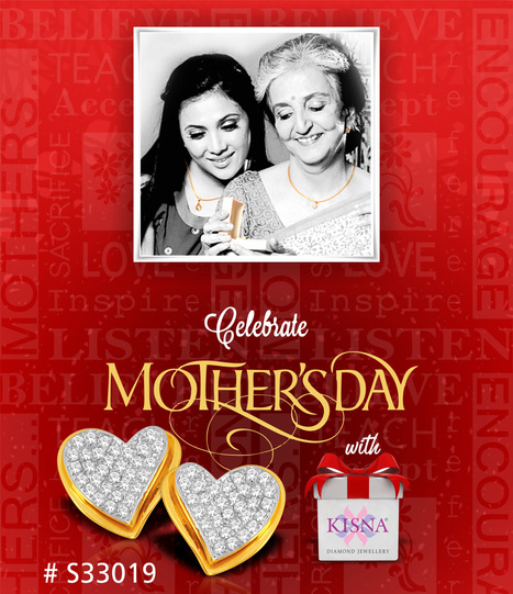 Celebrate Mother's Day with Kisna !<br/>http://www.kisna.com   Gold Diamond Jewellery Designs   Scoop.it