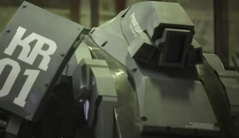 13-foot 12,000-pound mechanized robot suit now for sale in Japan | Robotic Suits | Scoop.it
