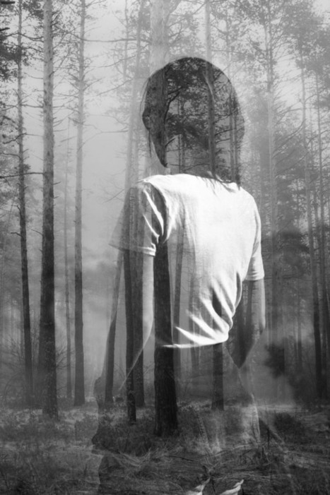 Dramatic double exposures that blend portraiture and nature photography   Architecture & Design   Scoop.it
