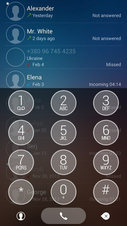 ExDialer Theme Transparent v1.0.1 | ApkLife-Android Apps Games Themes | seav hong | Scoop.it