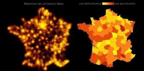 Où est-on le plus heureux en France ? - Le Nouvel Observateur   Prévention de la santé et du stress.   Scoop.it